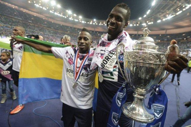 Cheick Diabaté, à droite, et Ludovic Lamien séane... (PHOTO PIERRE ANDRIEU, AFP)
