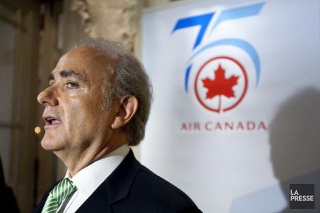 Calin Rovinescu,chef de la direction d'Air Canada.... (Photo Archives La Presse)
