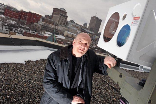 Deni Bonnier, président de l'entreprise Observ, constate déjà... (Photothèque Le Soleil, Steve Deschênes)