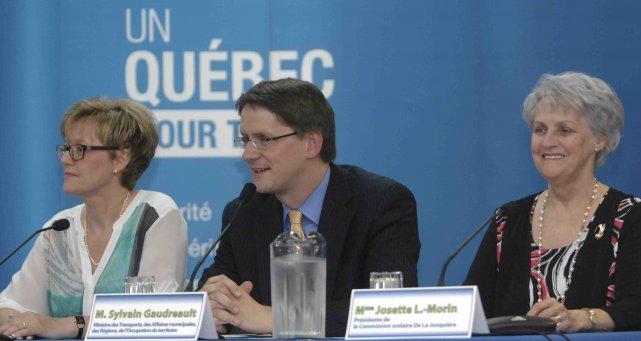 Le ministre Sylvain Gaudreault a annoncé hier que... ((Photo Michel Tremblay))