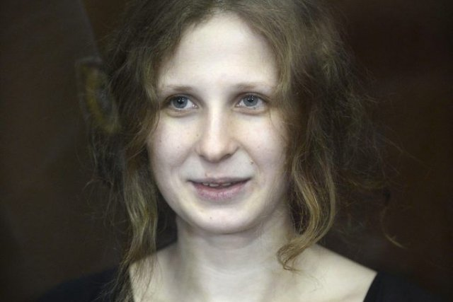 Maria Alekhina... (NATALIA KOLESNIKOVA, Archive AFP)