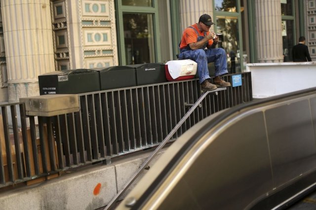 Le nombre d'Américains souffrant de la faim a augmenté sensiblement sur fond de... (Photo Robert Galbraith, Reuters)