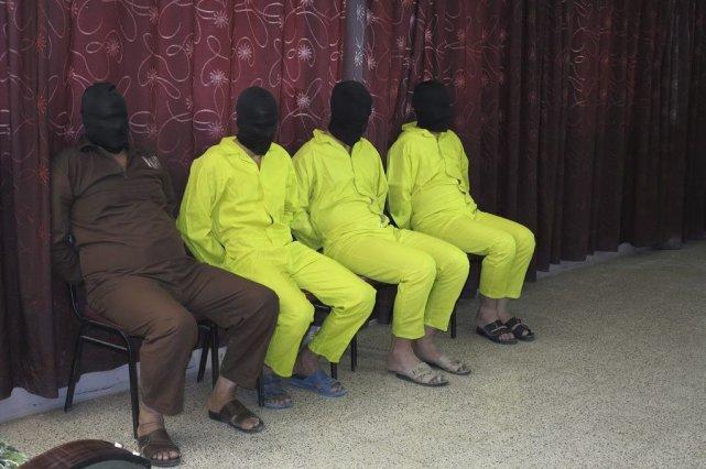 Des membres d'une cellule d'Al-Qaïda qui fabriquait des... (Photo Reuters/STRINGER)