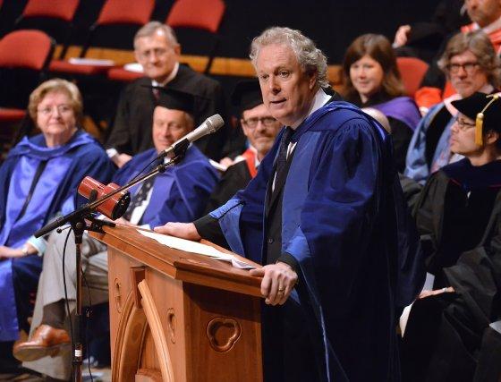 Maintenant  détaché de la vie politique, l'ex-premier ministre du  Québec Jean ... (Imacom, Maxime Picard)