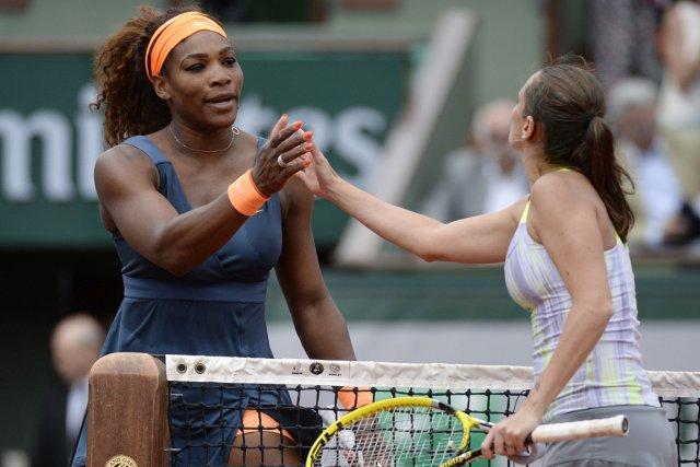 Serena Williams a battu  Roberta Vinci en... (Photo : Martin Bureau, AFP)