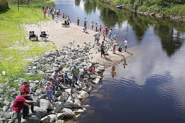 La rivière Etchemin... (Photo courtoisie du comité de restauration de la rivière Etchemin)
