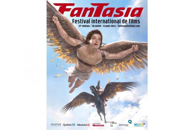 L'affiche du festival de films Fantasia 2013... (Photo: fournie par Fantasia)