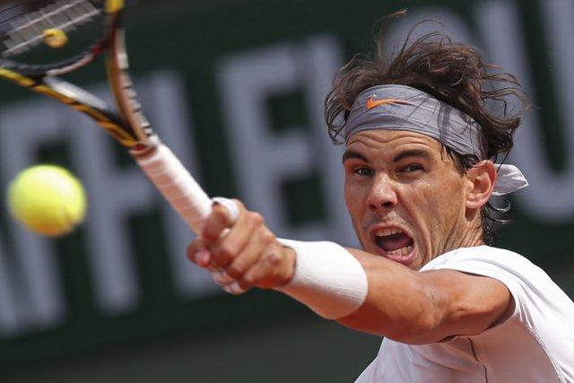 Rafael Nadal... (Photo Michel Euler, AP)