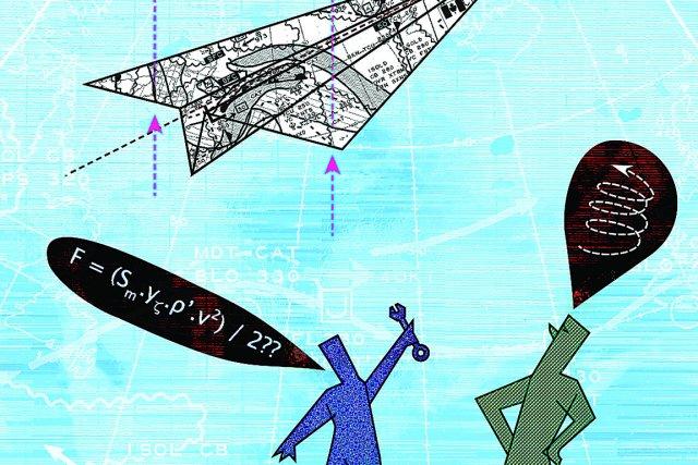 Après quelques turbulences, l'industrie aéronautique a redressé le cap et... (Illustration Nathalie Samson, La Presse)