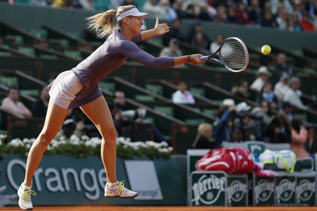 Maria Sharapova... (Photo Thomas Coex, AFP)
