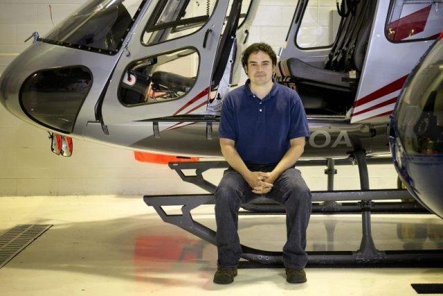 Patrice Chaput, technicien en entretien d'aéronefs... (Photo Marco Campanozzi, La Presse)