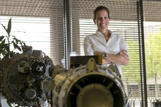 Mélanie Papillon, 40 ans, travaille chez Pratt et... (Photo Hugo-Sébastien Aubert, La Presse)