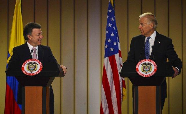 La Colombie est un partenaire privilégié des États-Unis... (PHOTO LUIS ACOSTA, AFP)