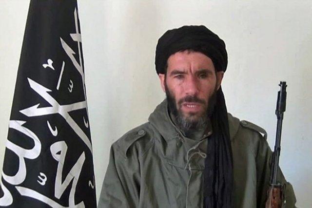 Le jihadiste Mokhtar Belmokhtar....