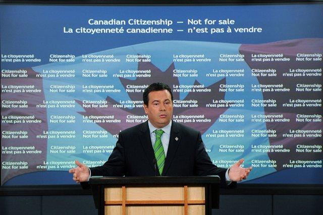 Le ministre de l'Immigration, Jason Kenney.... (Photo PC)
