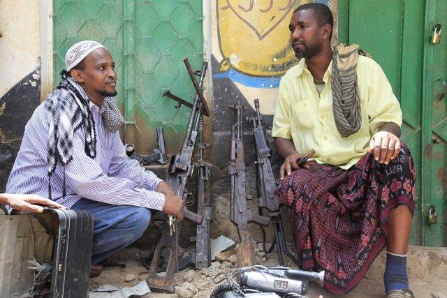 Le gouvernement somalien, au pouvoir depuis huit mois... (PHOTO FEISAL OMAR, REUTERS)