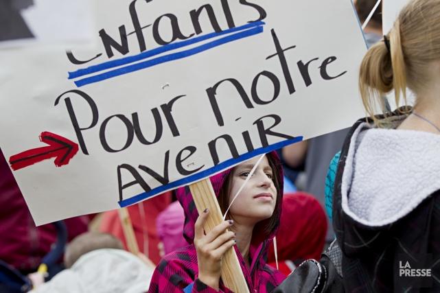 L'Association des garderies privées du Québec tiendra une... (PHOTO ANNE GAUTHIER, ARCHIVES LA PRESSE)