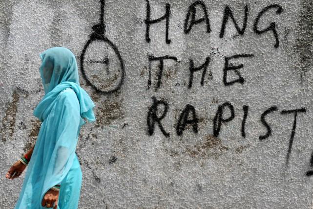 La jeune femme qui a coupé le pénis... (Archives AFP, Sajjad Hussain)