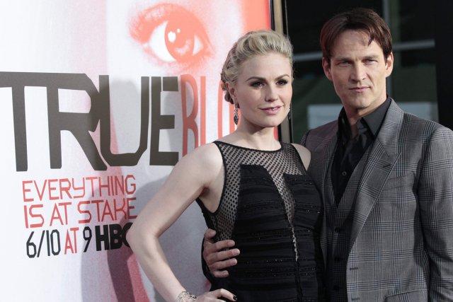L'interprète de Sookie dans True Blood, Anna Paquin,... (Photo: Reuters)