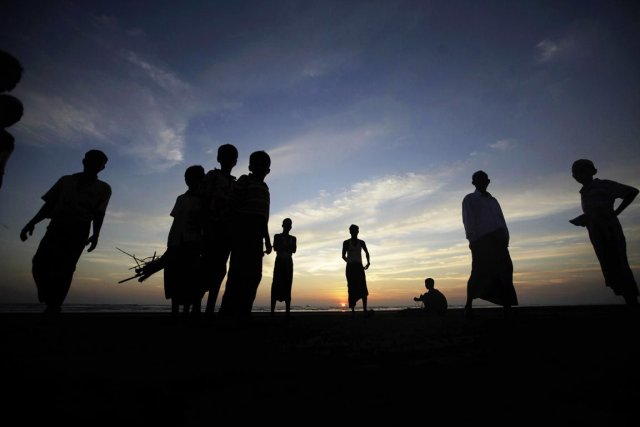Les 800000 Rohingyas apatrides confinés dans l'État birman... (PHOTO SOE ZEYA TUN, REUTERS)