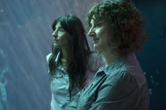 Romane Bohringer et Pierrette Robitaille dans Vic et... (Media Films)