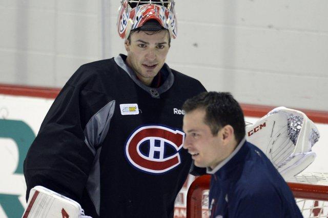 Pierre Groulx, entraîneur des gardiens du Canadien, avait... (Photo Bernard Brault, La Presse)