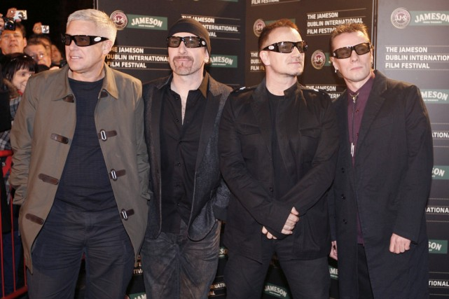 Le groupe U2... (Photo: archives AP)