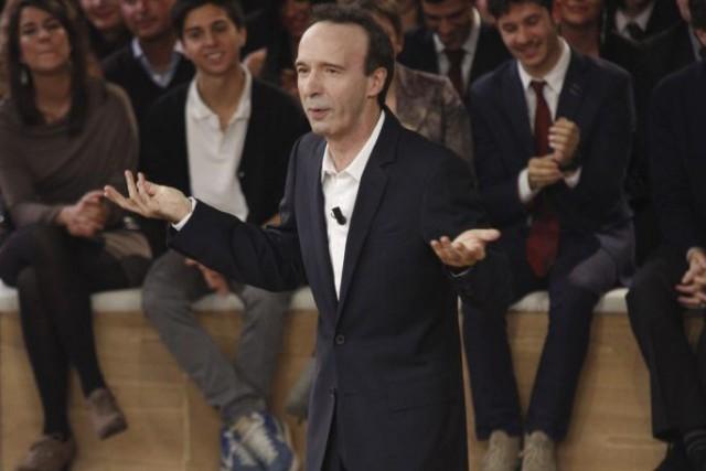 Le réalisateur et acteur italien Roberto Benigni... (Photo: archives AFP)