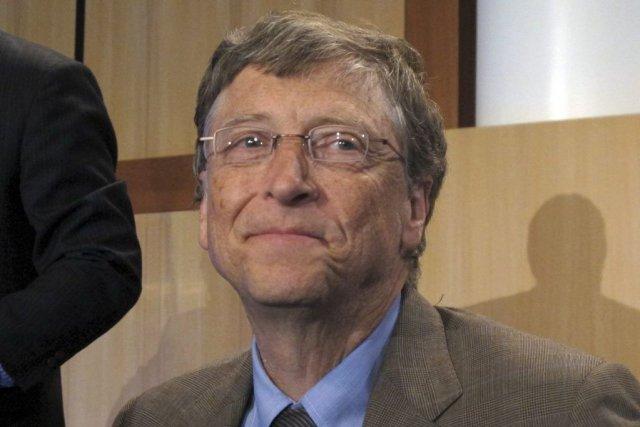Le cofondateur de Microsoft et philanthrope Bill Gates.... (Photo Rod McGuirk, AP)