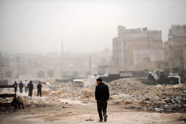 Le conflit en Syrie a fait depuis mars... (Photo: AFP)