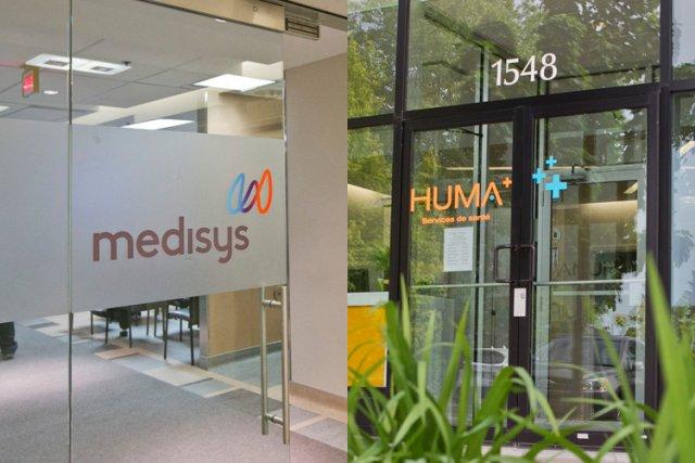 Alors que les cliniques publiques Huma+ sont la... (Photos: Hugo-Sébastien Aubert, La Presse)