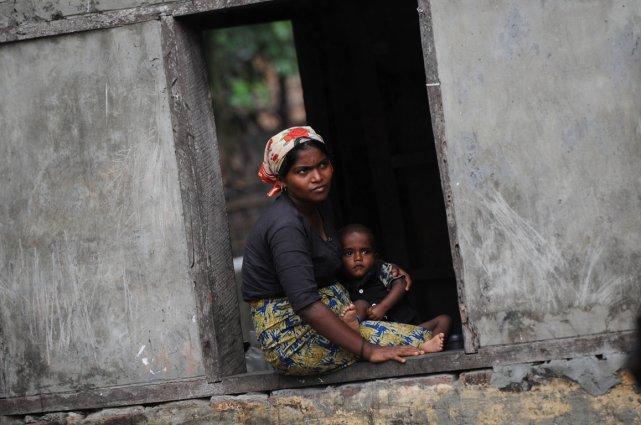 Près de 200 000 réfugiés rohingyas au Bangladesh... (Photo AFP)