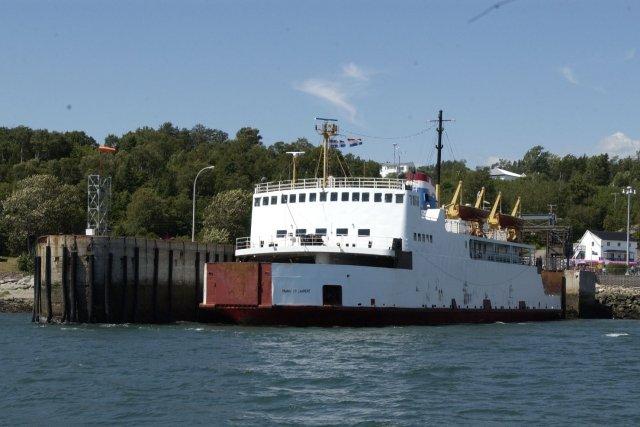 Un conflit de travail se profile au service de traverse maritime qui fait la... (Photo Jean Goupil, La presse)