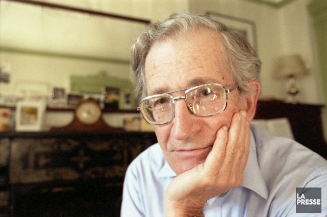 Noam Chomsky... (Archives La Presse)