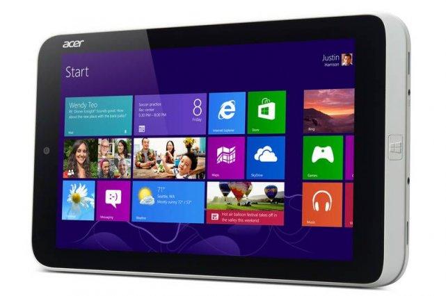 La tablette Acer Iconia W3 fonctionnant sous Windows... (Photo Acer)