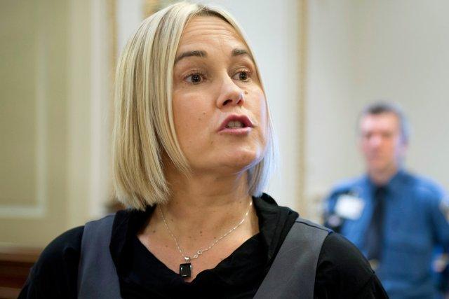Isabelle Gaston, la mère des deux enfants assassinés... (PHOTO JACQUES BOISSINOT, LA PRESSE CANADIENNE)