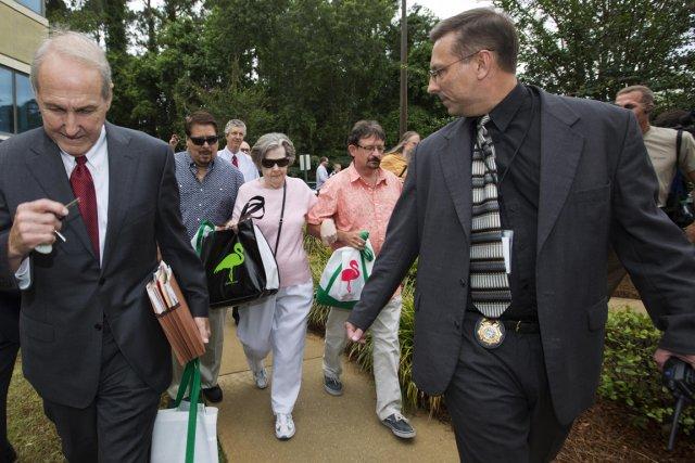La gagnante du gros lot de 590 millions $ à la loterie Powerball est une femme... (PHOTO COLIN HACKLEY, REUTERS)
