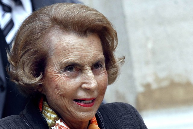 La riche héritière de L'Oréal, Liliane Bettencourt.... (PHOTO FRANCOIS GUILLOT, AFP)