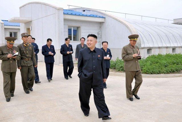 Le dirigeant de la Corée du Nord, Kim... (PHOTO REUTERS)