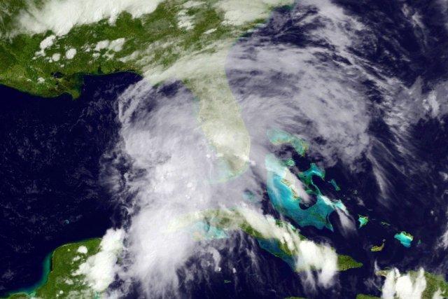 La première tempête tropicale de la saison dans l'Atlantique a touché terre... (Photo Reuters)