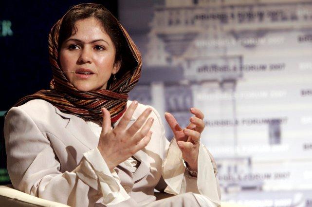Fawzia Koofi... (Photo AP)