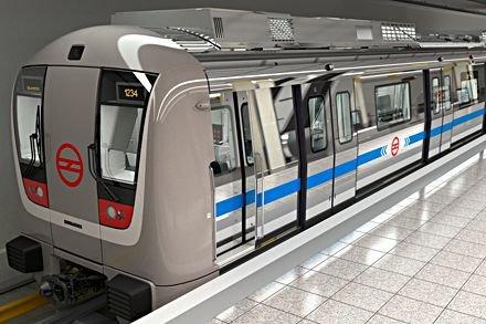 Un métro MOVIA de Bombardier...