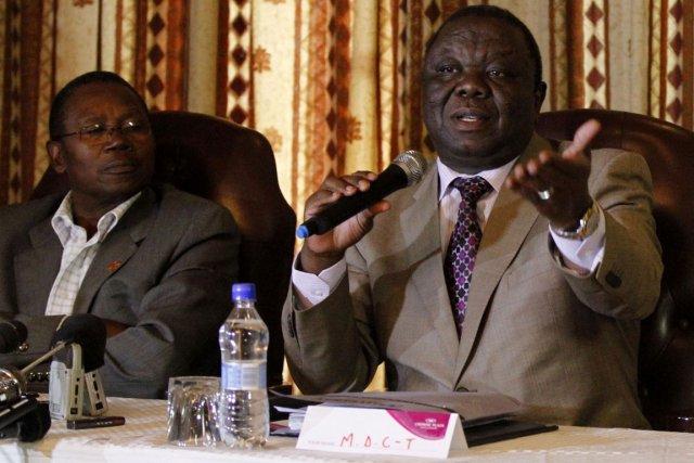 Le premier ministre Morgan Tsvangirai.... (Photo: Reuters)