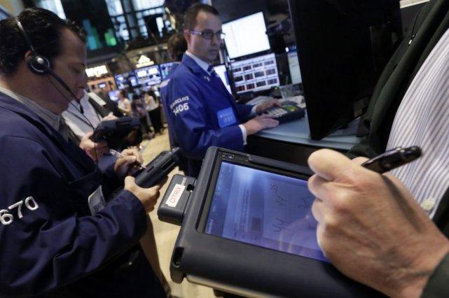 Les principaux indices de Wall Street ont enregistré... (Photo Richard Drew, AP)