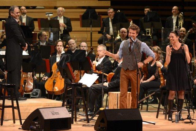 Au-dessus d'un bourdon de cordes graves, les trompettes lancent la mélodie... (Photo: Bernard Brault, La Presse)