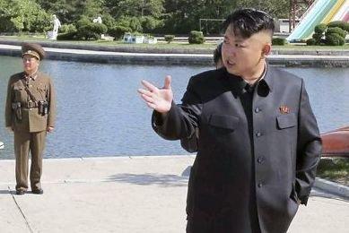 Le dictateur nord-coréen Kim Jong-Un.... (Photo AFP)