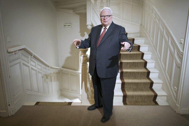 Pierre Mauroy en 2012.... (Photo archives AFP)