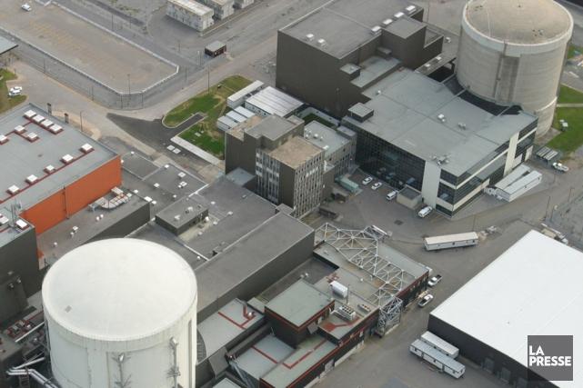 Une vingtaine d'employés de la centrale nucléaire Gentilly-2... (Photo: La Presse)