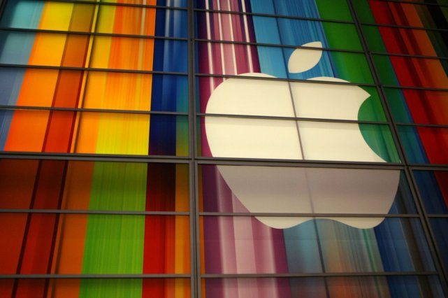 Le groupe informatique Apple a signé des accords avec les trois plus grandes... (Photo Archives La Presse)