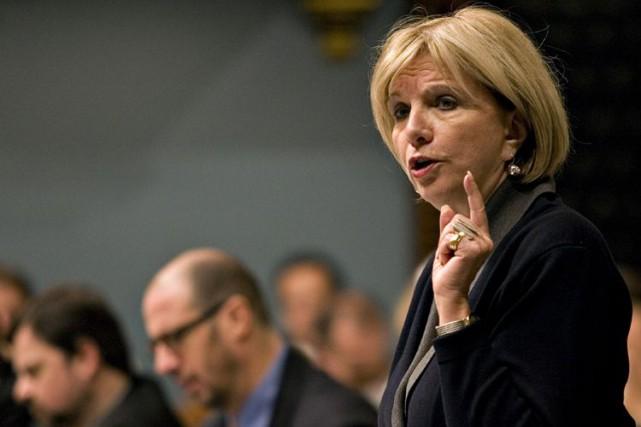 La députée péquiste Agnès Maltais a affirmé que... (Archives La Presse canadienne)